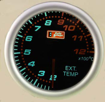 AG Exhaust Gas Temperature Gauge - 52mm(2 inch) in Smoke Design