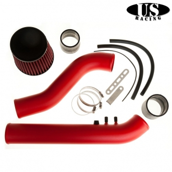 US Racing ColdAirIntake Red - Civic 96-00 EK3, EK4