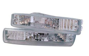 Bumper lights Euro clear - Civic/CRX 88-89