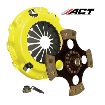 ACT Clutch Kit Xtreme Pressure Solid 4 Pad - Honda B-Engines