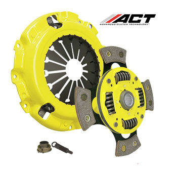 ACT Clutch Kit Xtreme Pressure Spring Centered 4 Pad - Honda K-Engines
