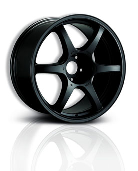 Tenzo-R Racing Wheel - DC-6 Black (18x8 - 5x112/114.3 ET 35)