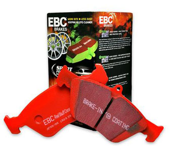 EBC Redstuff Brake Pad - Mazda MX-5 NA 1.6L 115HP Rear Disc -1993