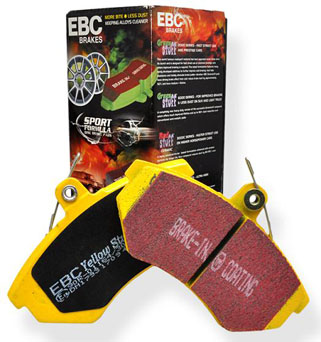 EBC Yellowstuff Brake Pad - Mazda MX-5 NA 1.6L 115HP Rear Disc -1993