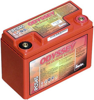 Odyssey PC545 - Drycell Racing Battery Metal Jacket