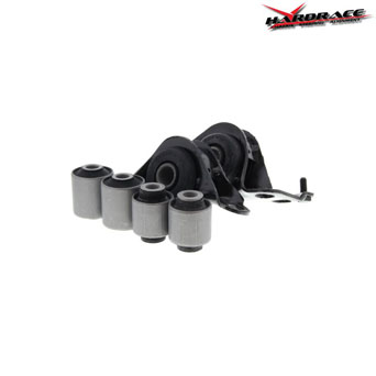 Hardrace Front Lower Control Arm Bushings 6pcs - Honda CRX del Sol 92-97