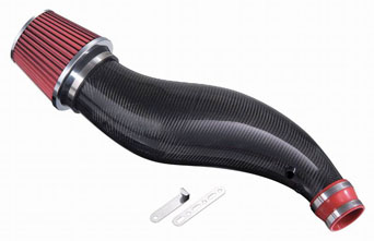 J-Racing Carbon Air Intake - Civic 92-00 / CRX del sol 92-97