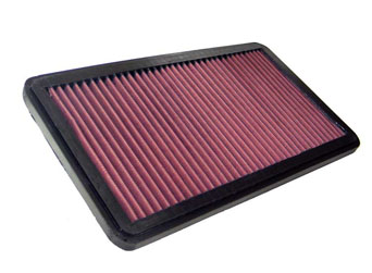 K&N Sportluftfilter - Alfa Romeo 90 2.5L Filter 221x397mm 156PS