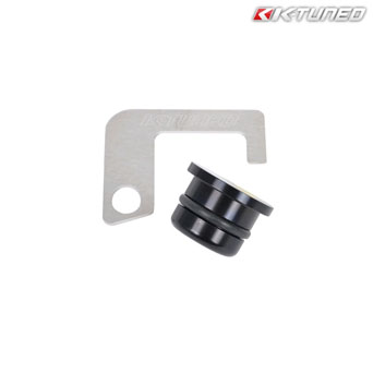 K-Tuned - OEM Thermostat Housing Plug & Bracket