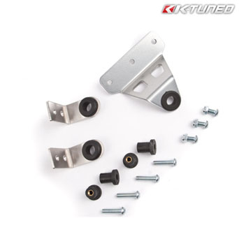 K-Tuned - Bolt-On Radiator Bracket Kit Civic 91-01