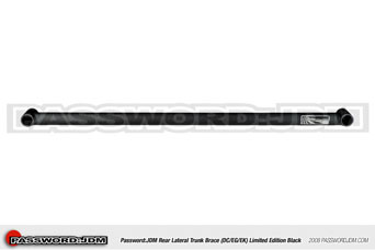 Password JDM Aluminium Strutbar (rear lat.) BL - Integra Type-R