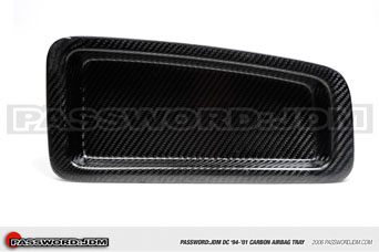 Password JDM Carbon Fiber Airbagfach Abdeckung - Honda Integra DC2