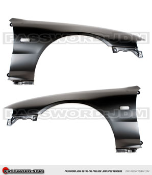 Password JDM Spec Fenders Set - Honda Prelude 92-96