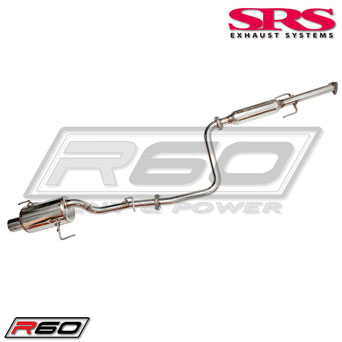 SRS R60 Cat-Back - Honda Prelude 92-96 *EWG Report*