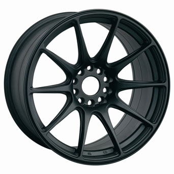 XXR Wheels - XXR 527 Flat Black (15/17/18 inch)