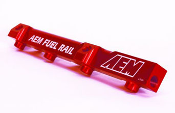 AEM high flow fuel rail - CRX 88-91 1.5/1.6L