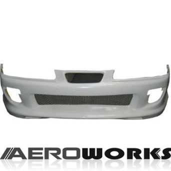 Aeroworks Front Bumper Kombat Style - Prelude 92-96