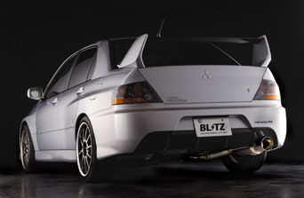 Blitz Nur Spec-R Cat-Back - Evo 7-8