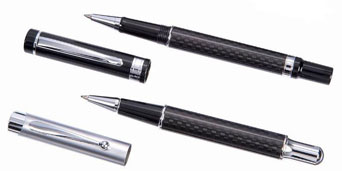 Carbon ball pen - Black