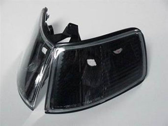 Corner lights JDM Black - Civic 88-89