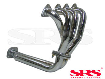 SRS chrome header 4-1 - Civic/CRX 92-00 VTI