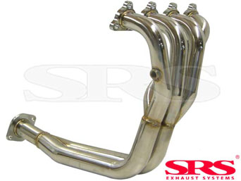 SRS stainless steel header 4-2-1 - Civic/CRX 92-00 SOHC