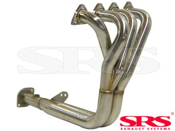 SRS stainless steel header 4-2-1 - Civic/CRX 92-00 VTI