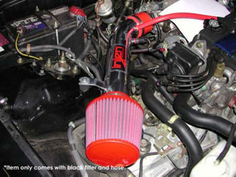 Injen Short Ram Air Intake IS1520P - CRX 92-97