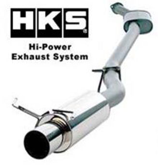 HKS Cat-Back Hi-Power Exhaust - Evo 2003-2004 2.0L
