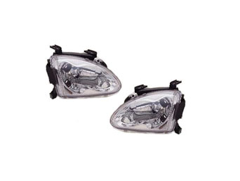 Headlights JDM chrome - Honda CRX del Sol 92-97