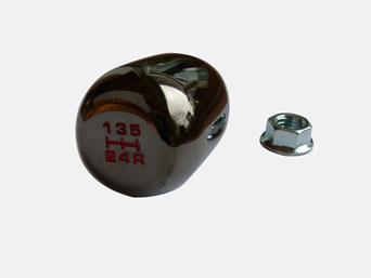 Honda Type-R Style Shift knob - Black Chrome