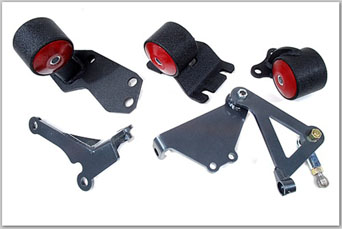 Innovative B-Series engine mount set hydro t. - Honda CRX 88-91