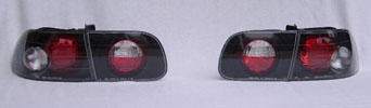 Taillights JDM Black - Civic 92-95 (Hatchback)