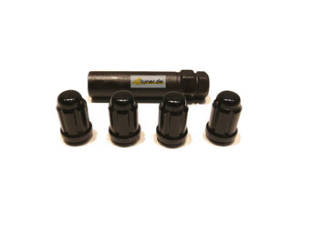 US-Racing Lug Nuts Typ III - Conical Type Black