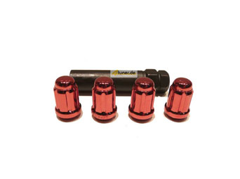 US-Racing Lug Nuts Typ III - Conical Type Red