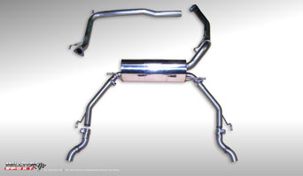 Milltek Cat-Back - Civic 06- Type-R (FN2)