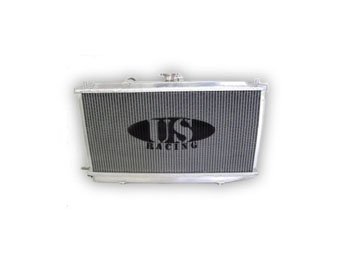 US-Racing Aluminium Radiator - Honda Civic/CRX 88-91 D-Engines