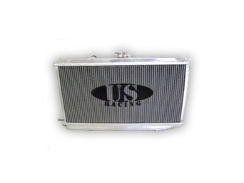 US-Racing Aluminium Radiator - Honda Civic/CRX 88-91 VTEC B16A1