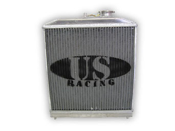 US-Racing Aluminium Radiator - Honda Civic/CRX 92-00 D-Engines