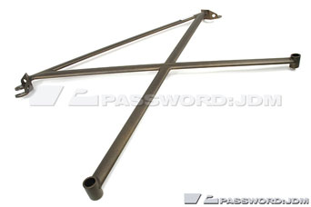 Password JDM Aluminium Strutbar 4-point (rear) - Integra Type-R