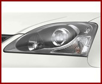 Headlights JDM Black with blinker - Civic 01-05 *E-Approval*