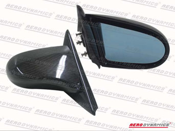 Aerodynamics Carbon SPN Style Mirror - CRX 88-91 (electrical)
