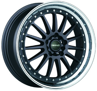 Tenzo-R Wheels - Turismo Charcoal Machined (15/17/18 inch)