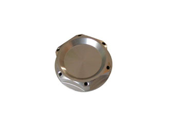 US-Racing Race-Type Oil Cap - Silver (Honda/Nissan)